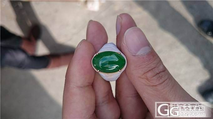 浓浓的绿蛋_戒指翡翠