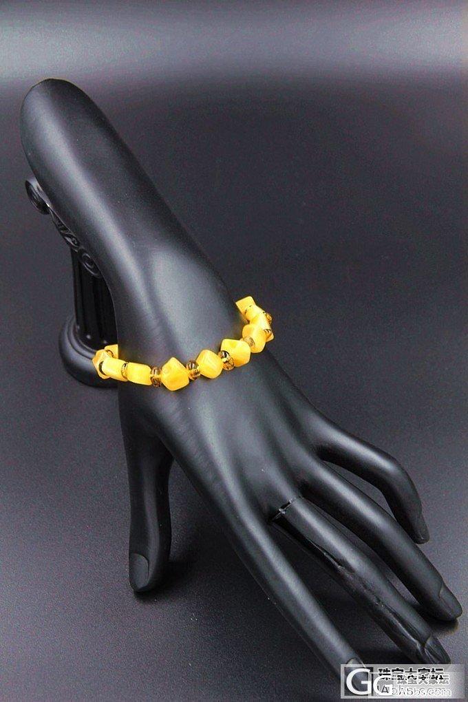 【瑷蜜吧amber】鸡油黄纯天然随形..._珠宝
