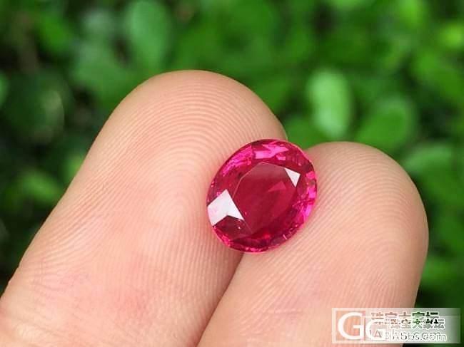 【红宝石】1.58ct无烧红宝石,颜色、火彩、净度都无可挑剔_莫桑石上海皇家蓝彩宝