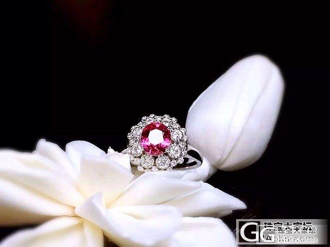 【RBG 定制欣赏】超美超美的尖晶石戒指,小主石的大魅力_上海皇家蓝彩宝