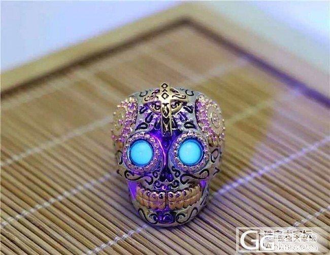 爆款 925银掐丝珐琅工艺 戒指 眼睛是墨西哥蓝珀,现在店里没这个都不好意思开门,..._银