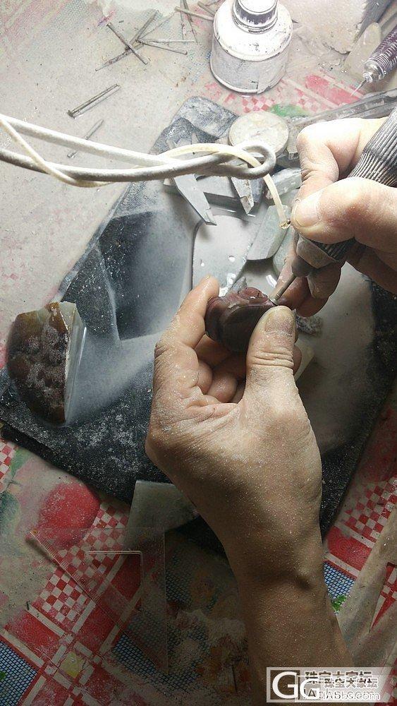 把把壶加工制作过程,你一定没见过!_原石传统玉石