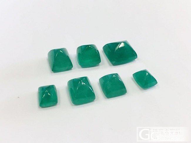 糖果切割的祖母绿大家喜欢嘛?_祖母绿