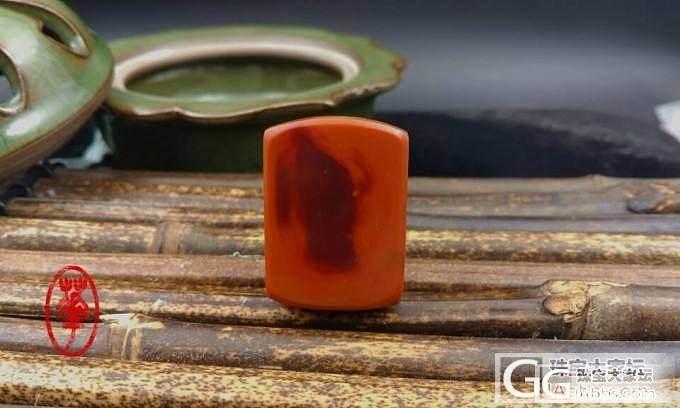 【渡】南红玛瑙俏色雕件_玛瑙