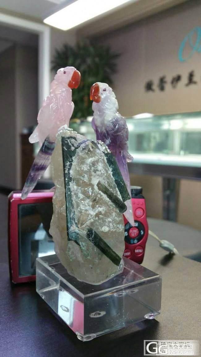 【傲蕾伊兰珠宝】非常有意思的矿标,值..._傲蕾伊兰珠宝
