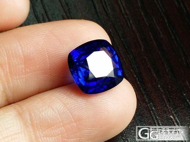 【蓝宝石】5克拉斯里兰卡皇家蓝蓝宝石,H,全干净_上海皇家蓝彩宝