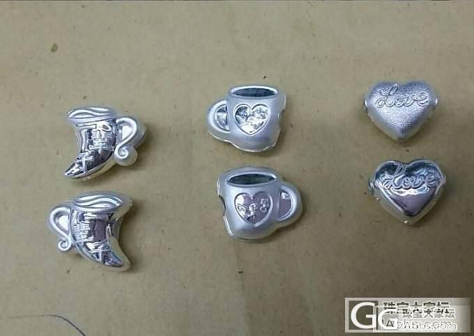 纯银及泰银配件穿手脚绳戒指等银配件配..._工艺
