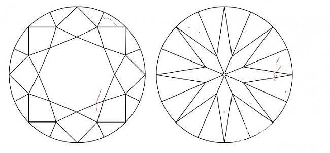 求鉴定, vs2 羽裂纹还是vs1 ..._钻石