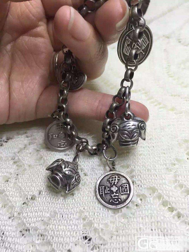 手腕上的穿越…_手链银