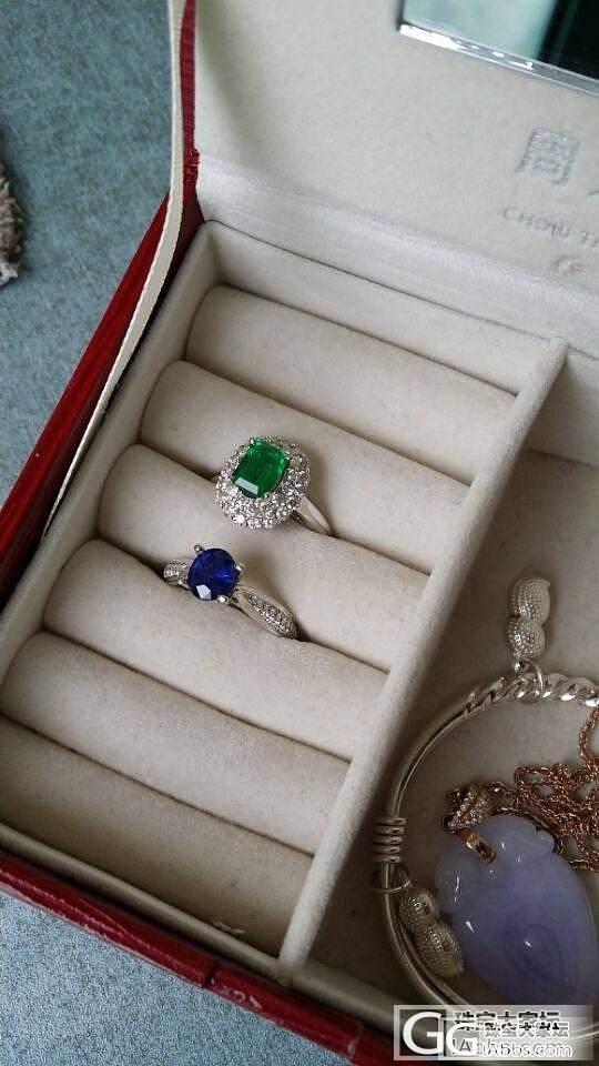蓝宝石戒指秀秀_刻面宝石蓝宝石