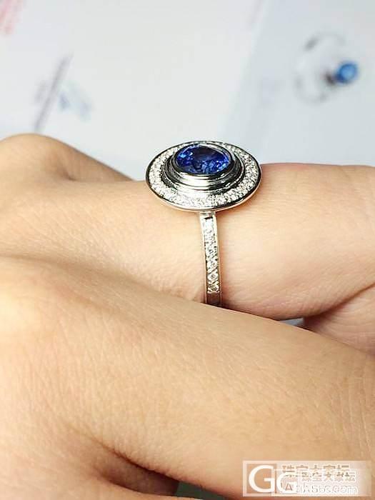 tiffany 顶级蓝宝石 钻石 戒..._博物馆