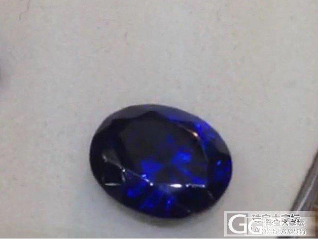 请看看这个石头如何?能达到多少评级_坦桑石刻面宝石