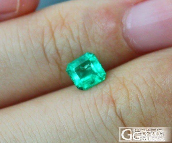 【彩石记】方形祖母绿戒面裸石_珠宝