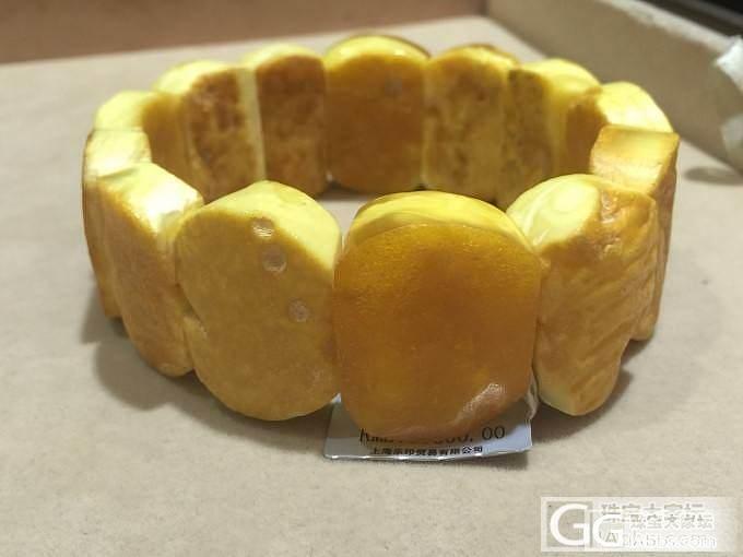 乐印出品的波兰白蜜原石手牌,直接产地..._蜜蜡珠串