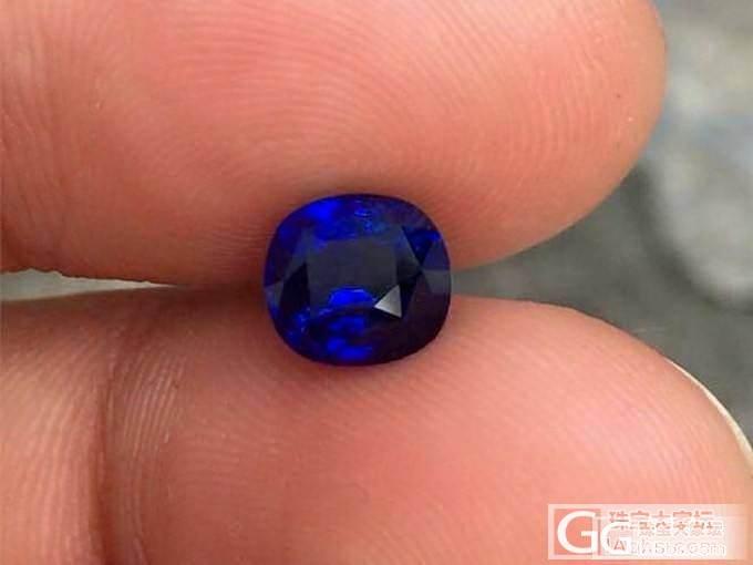 【特价1.97ct斯里兰卡皇家蓝宝石..._泰勒珠宝