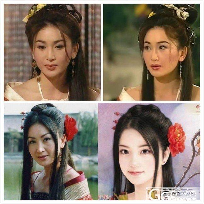 古装惊艳美女经典造型大PK之翡翠情缘_翡翠
