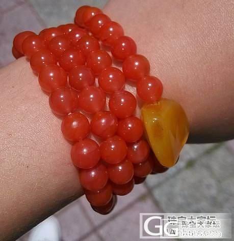 求助:樱桃红珠子变亚光了,怎么办?(..._珠串南红