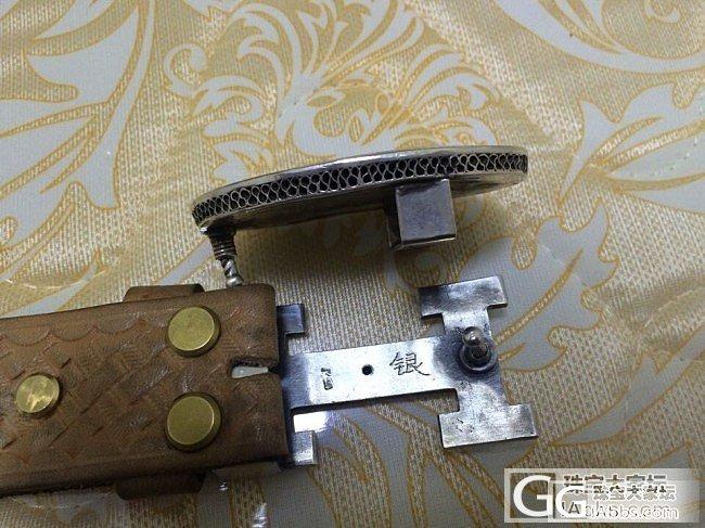 银皮带扣_工艺