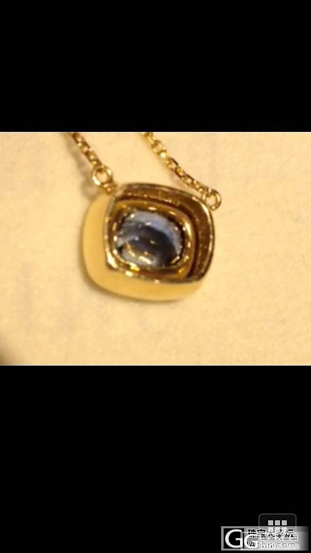 看上了一块蓝宝石,但不太懂,想让各位给看看值多少钱_蓝宝石