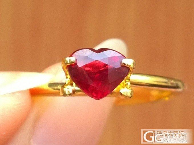 小小白收的小小红,第一次收也不是什么..._机构证书刻面宝石红宝石