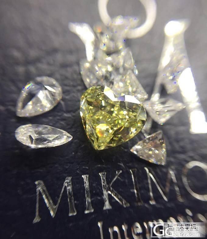 瑞璞珠宝 一颗很好的 心形 FY 彩..._钻石