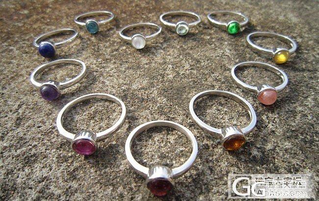 我一次镶了这么多戒指,只为给老婆配衣服_琳琅满目戒指宝石银