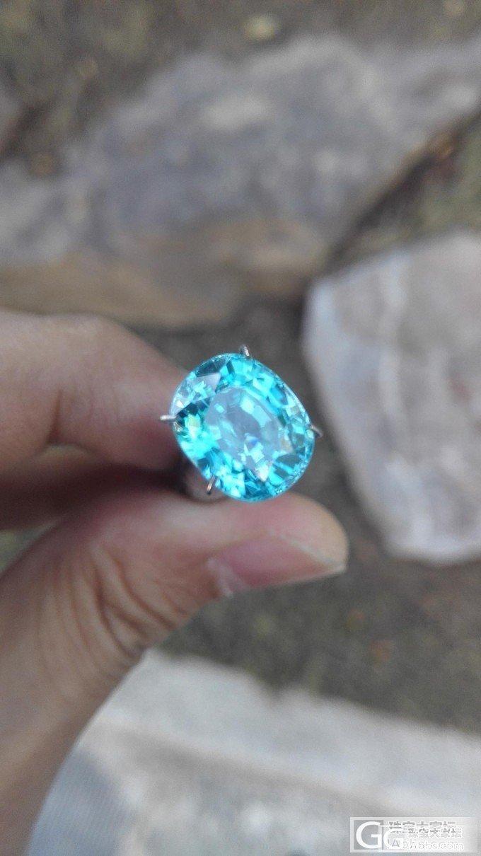 一个不错的风信子石_少见宝石刻面宝石