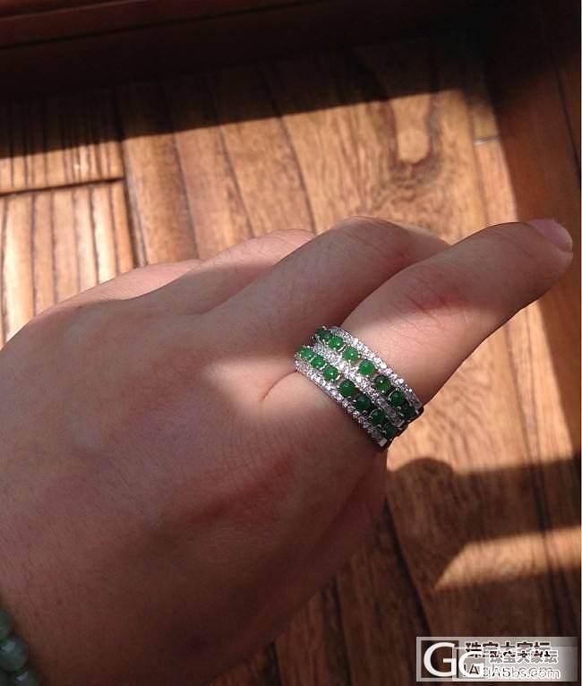 三位数的绿戒指,带着玩玩还不错吧_戒指翡翠