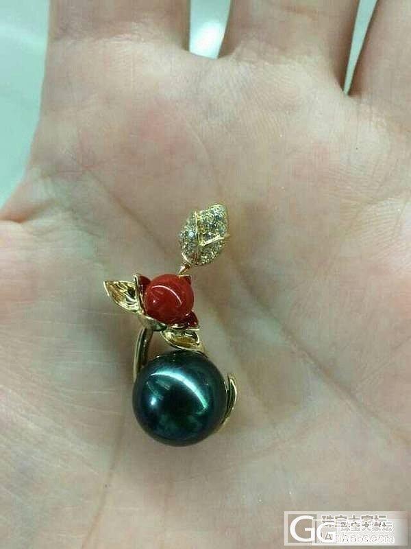 当红珊瑚遇到黑珍珠_珊瑚珍珠