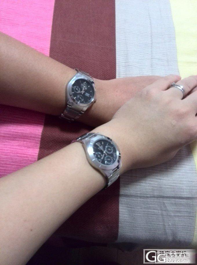 镯子都带不过来,老公送了个手表,纠结..._卡西欧银