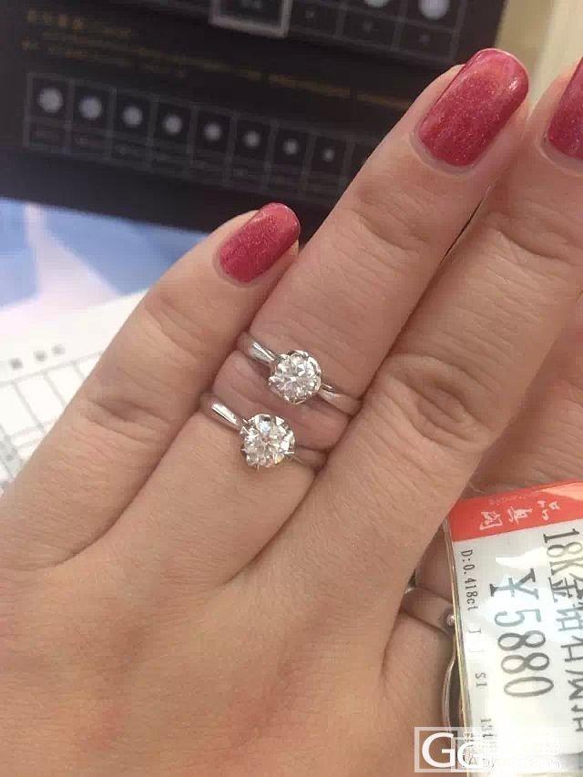 妈妈过生日想给她送个戒指,大家帮看看..._戒指钻石
