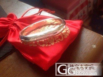 心爱萌宠狮子狗银戒还有马蹄寿镯_手镯戒指银