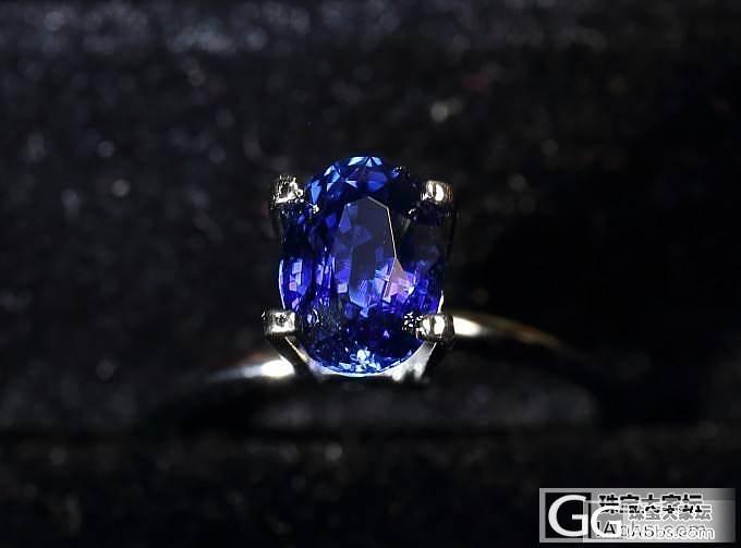 一颗皇家蓝小精品_宝石