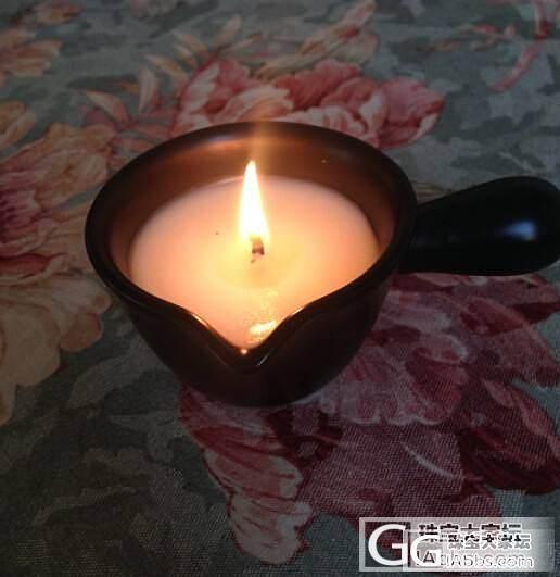 燃烧后可以当按摩精油的蜡烛哦,蜡烛蜡..._珠宝