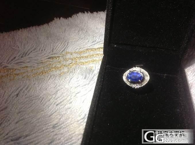 5.78 卡拉的日本中古蓝宝介指_名贵宝石