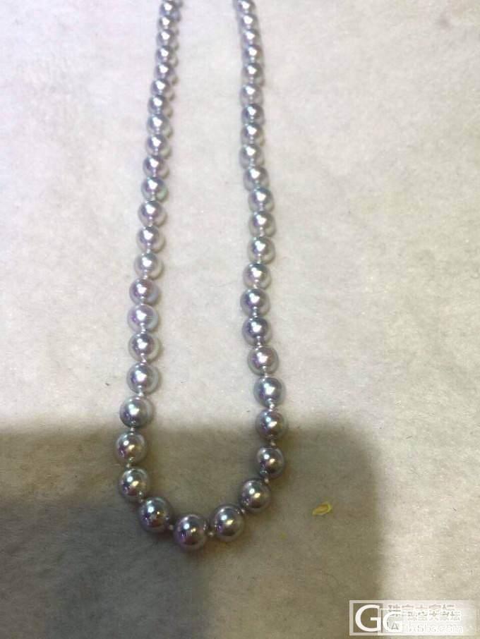 银灰蓝珍珠,国内听说很少,元芳你怎么..._珠宝