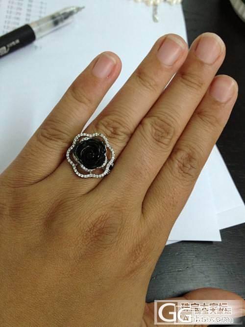 转闲置可以用拍卖形式吗?69元起拍超美玫瑰花绿碧玺戒指、珍珠手链_珠宝