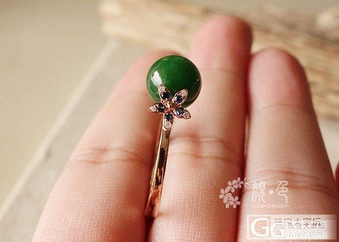 【颜●色】(售罄)碧玉圆珠戒指及今日新货