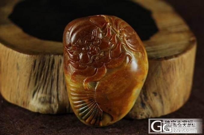 和田玉挂件 真品保真 支持复检 皮色靓丽俏雕黄沁籽料钟馗_传统玉石