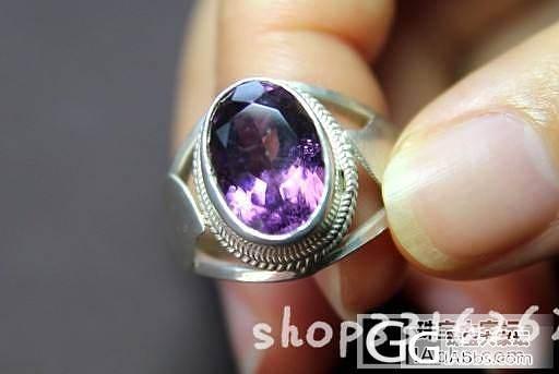 印度尼泊尔纯手工复古紫水晶戒指,不够个性的朋友请绕道_宝石