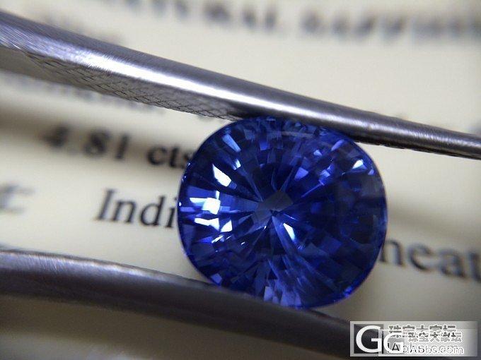 M.GEMS 超闪4.81ct斯里兰卡有烧blue色蓝宝石_蓝宝石刻面宝石