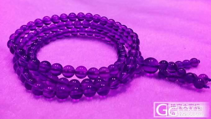 紫水晶,光下美图。_珠宝