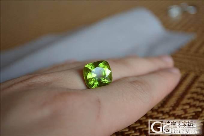 全火彩的芬达与绿_石榴石刻面宝石