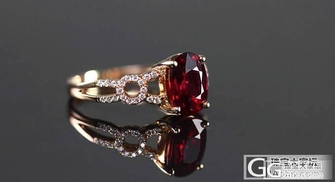 【忆宝】分享一些适合2克拉红宝石的款式~成品美图哟!_宝石