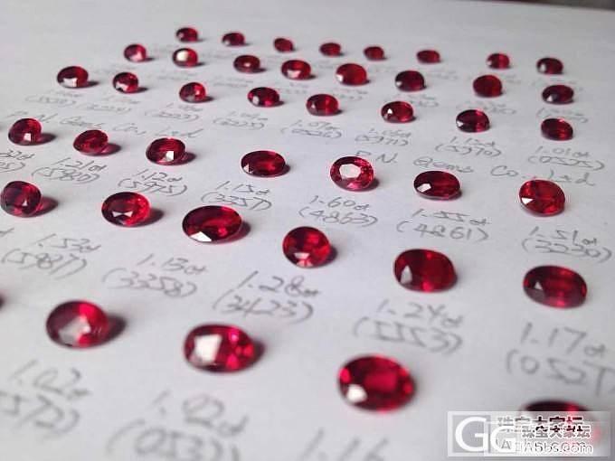 【P.N.GEMS】大量优质红蓝宝,..._宝石