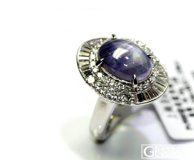 【圣韵宝宝】6射星光蓝宝石戒指_圣韵钻石