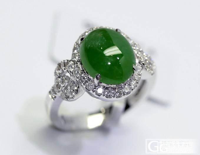 【圣韵宝宝】翡翠戒指_圣韵钻石