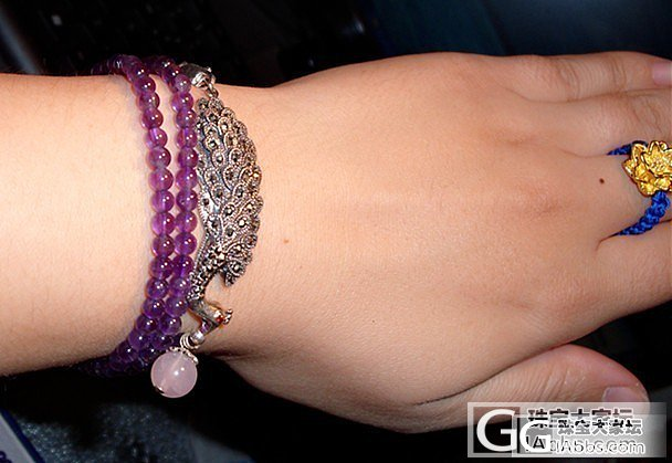 冷宫里的旧爱们——泰银+各种珠子手串_串珠珠串银