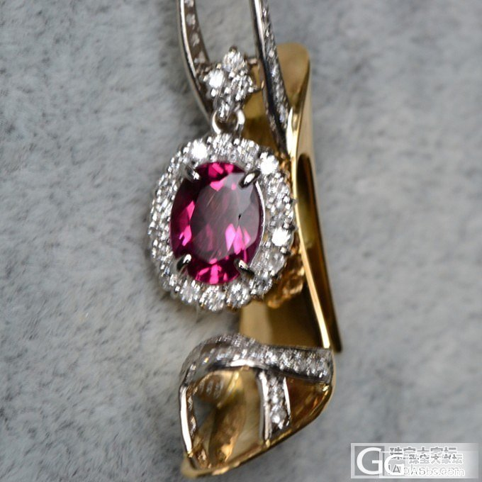 【项链】几款漂亮的项链成品_宝石