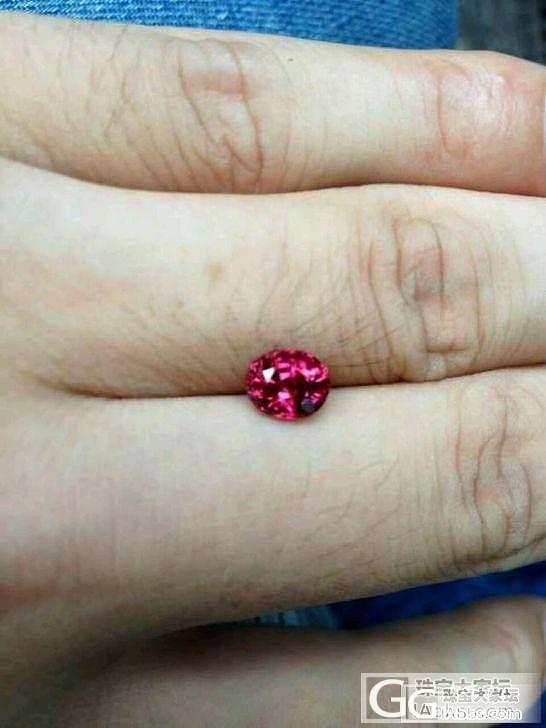 割肉转让-大红尖晶白金戒指、紫锂辉石..._珠宝